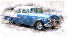 Free Motor Vehicle, Car, Vehicle, Chevrolet Bel Air Stock Photo - 112120630