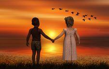 Free Romance, Sky, Love, Friendship Stock Image - 112120631