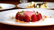 Free Dessert, Food, Frozen Dessert, Panna Cotta Royalty Free Stock Photography - 112120707
