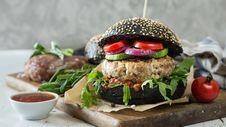Free Veggie Burger, Food, Dish, Hamburger Royalty Free Stock Image - 112120946