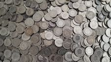 Free Money, Currency, Coin, Texture Stock Images - 112121104