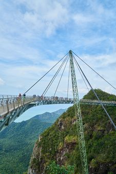 Free Bridge, Sky, Cable Stayed Bridge, Suspension Bridge Royalty Free Stock Photos - 112121118