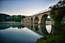 Free Reflection, Bridge, Nature, Water Royalty Free Stock Photos - 112121148