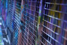 Free Blue, Cage, Purple, Net Stock Photos - 112121483