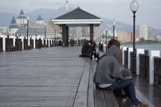Free Boardwalk, Pier, Walkway, Tourism Royalty Free Stock Images - 112121509