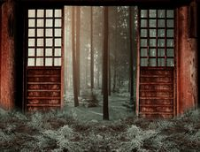Free Wall, Window, Wood, Tree Royalty Free Stock Images - 112121689