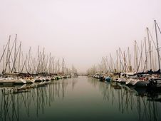 Free Marina, Waterway, Water, Reflection Stock Images - 112200824