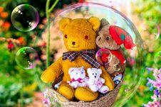 Free Teddy Bear, Stuffed Toy, Toy, Flower Stock Photography - 112200932