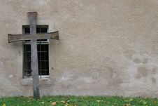 Free Wall, Cross, Window, Facade Stock Photo - 112200970