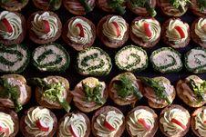 Free Dessert, Cupcake, Cake, Buttercream Stock Images - 112200974
