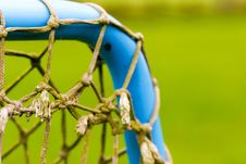Free Net, Grass, Close Up, Football Stock Image - 112201171