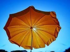 Free Sky, Yellow, Umbrella Stock Photos - 112201323