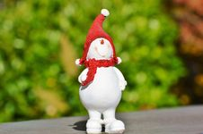 Free Christmas, Lawn Ornament, Flightless Bird, Christmas Ornament Royalty Free Stock Image - 112201856