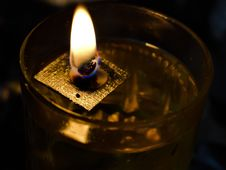 Free Candle, Lighting, Drink, Close Up Stock Photography - 112278062