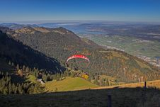 Free Ridge, Paragliding, Fell, Wilderness Royalty Free Stock Images - 112278339