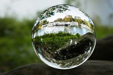 Free Water, Sphere, Reflection, Glass Stock Images - 112278454