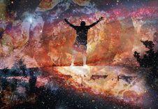 Free Nebula, Art, Galaxy, Universe Royalty Free Stock Image - 112278666