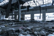 Free Damaged Building Interior Stock Photos - 112301483
