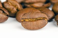 Free Brown Coffee Beans Lot Stock Images - 112363804