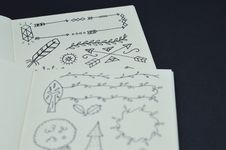 Free Selective Focus Photo Of White Coloring Book Page Stock Image - 112455011