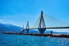 Free Bridge, Sea, Cable Stayed Bridge, Sky Royalty Free Stock Photography - 112496557