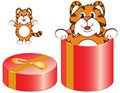 Free Tiger Orange Red Box 2010 Stock Photography - 11253632