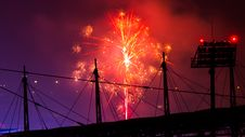Free Photo Of Fireworks During Night Time Stock Image - 112565121