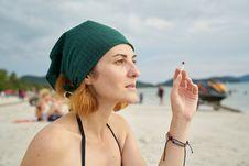 Free Beach, Vacation, Cap, Headgear Royalty Free Stock Photos - 112568528