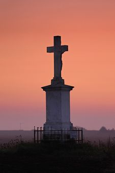 Free Cross, Sky, Landmark, Dawn Stock Photography - 112570602