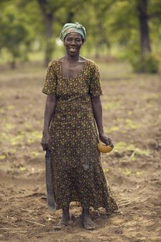 Free People, Standing, Tribe, Soil Stock Photo - 112590740