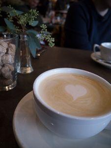Free Coffee, Latte, Café Au Lait, Cappuccino Stock Image - 112591401
