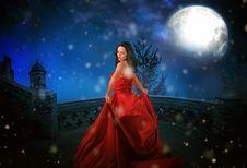 Free Sky, Beauty, Darkness, Lady Royalty Free Stock Photo - 112595365