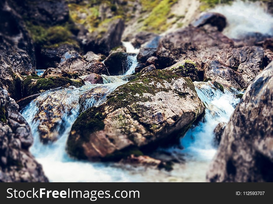 Water, Nature, Body Of Water, Rock