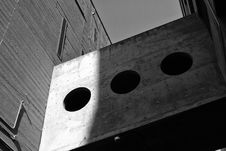 Free Grayscale Photography Of Board With Three Round Holes Royalty Free Stock Photos - 112669538