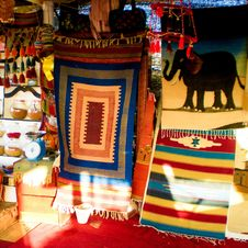 Free Assorted-print Tapestry Lot Stock Photos - 112669663