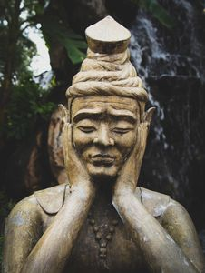 Free Selective Focus Photo Of Buddha Statue Stock Images - 112669784