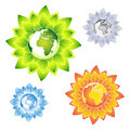Free Eco Flower Earth Stock Photo - 11274680
