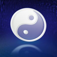 Free Abstract Yin & Yang Illustration Stock Image - 11271571