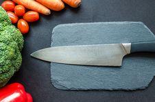 Free Kitchen Knife Stock Photos - 112809493