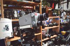 Free Black And Gray Sony Video Camera Stock Photos - 112809503