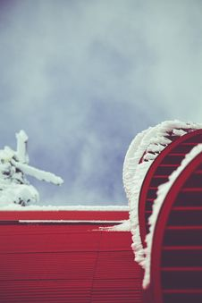 Free Photo Of Red Roof Royalty Free Stock Images - 112809629