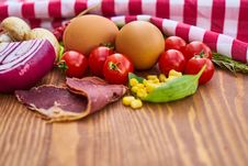 Free Food, Vegetable, Appetizer, Meat Stock Photography - 112840022
