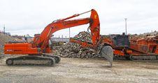 Free Transport, Mode Of Transport, Construction Equipment, Bulldozer Royalty Free Stock Photos - 112840528