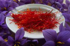 Free Spice, Flower, Saffron, Petal Stock Images - 112842154