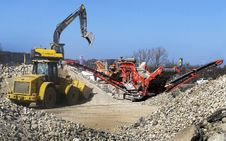 Free Soil, Construction Equipment, Rubble, Machine Stock Image - 112842691