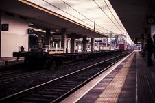 Free Train Station Stock Image - 112878191