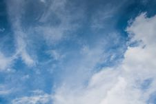 Free Clouds In The Sky Royalty Free Stock Image - 112970036