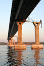 Free Piers Of Building Bridge Royalty Free Stock Image - 1131656