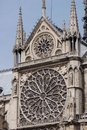 Free Stained Glass Window Detail From Notre Dame De Paris Stock Photo - 1137320