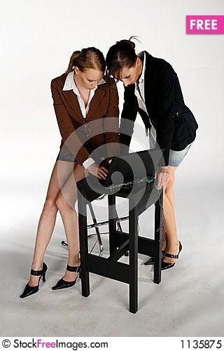 Free Working Girls Royalty Free Stock Photo - 1135875